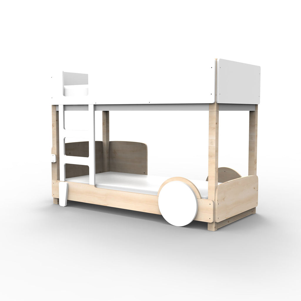 Discovery Bunk Bed White - Mathy By Bols
