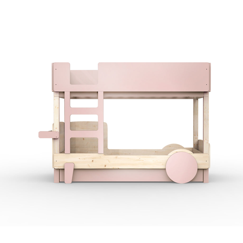 Discovery Bunk Bed Drawer Pink - Mathy by Bols