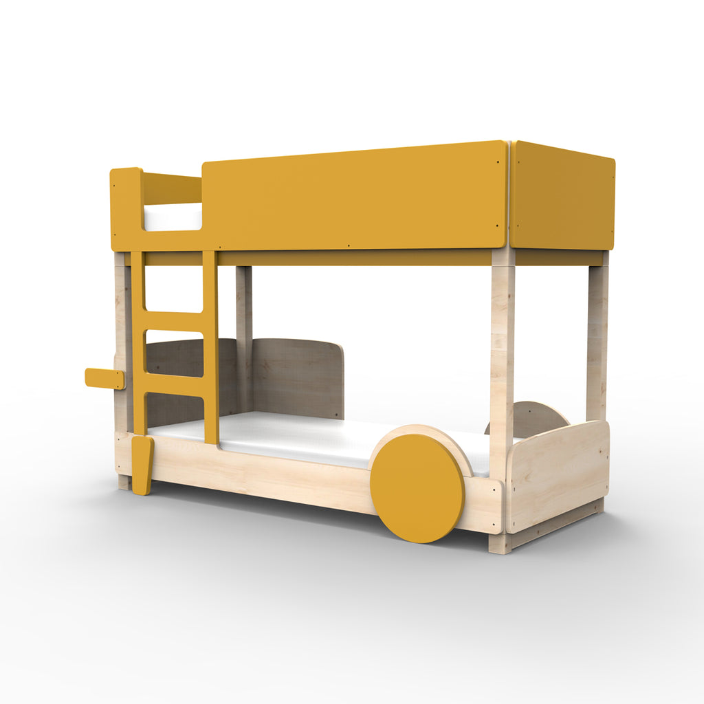 Discovery Bunk Bed Mustard - Mathy By Bols