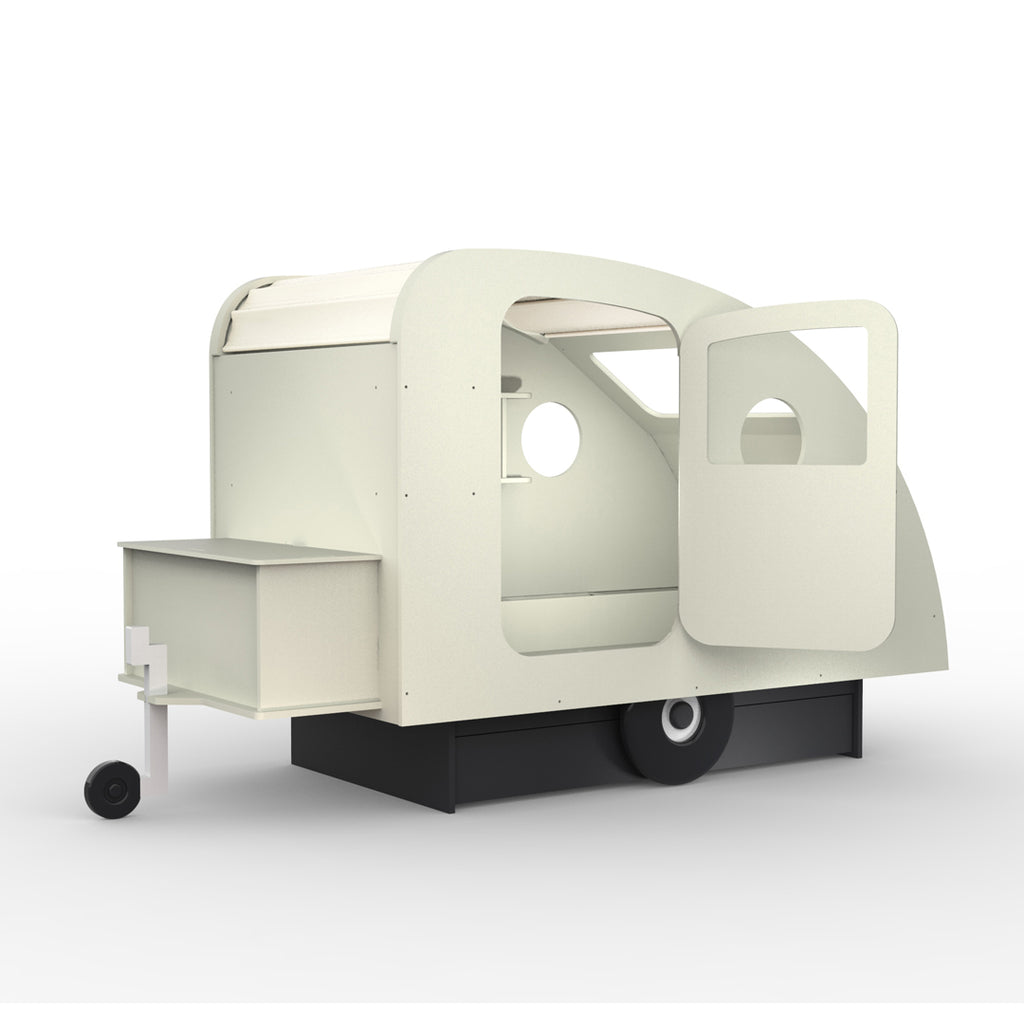 Caravan Bed Off White - Mathy by Bols
