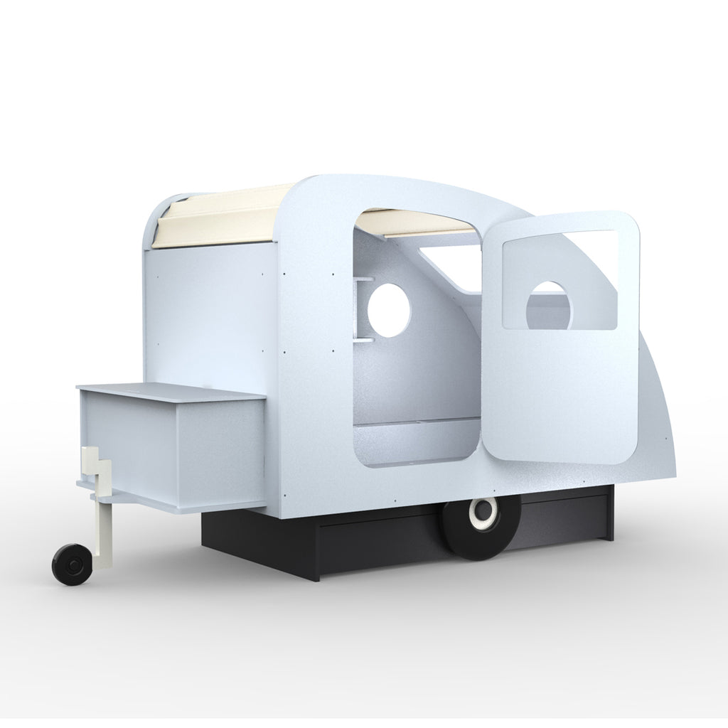 Caravan Bed Pale Blue - Mathy by Bols