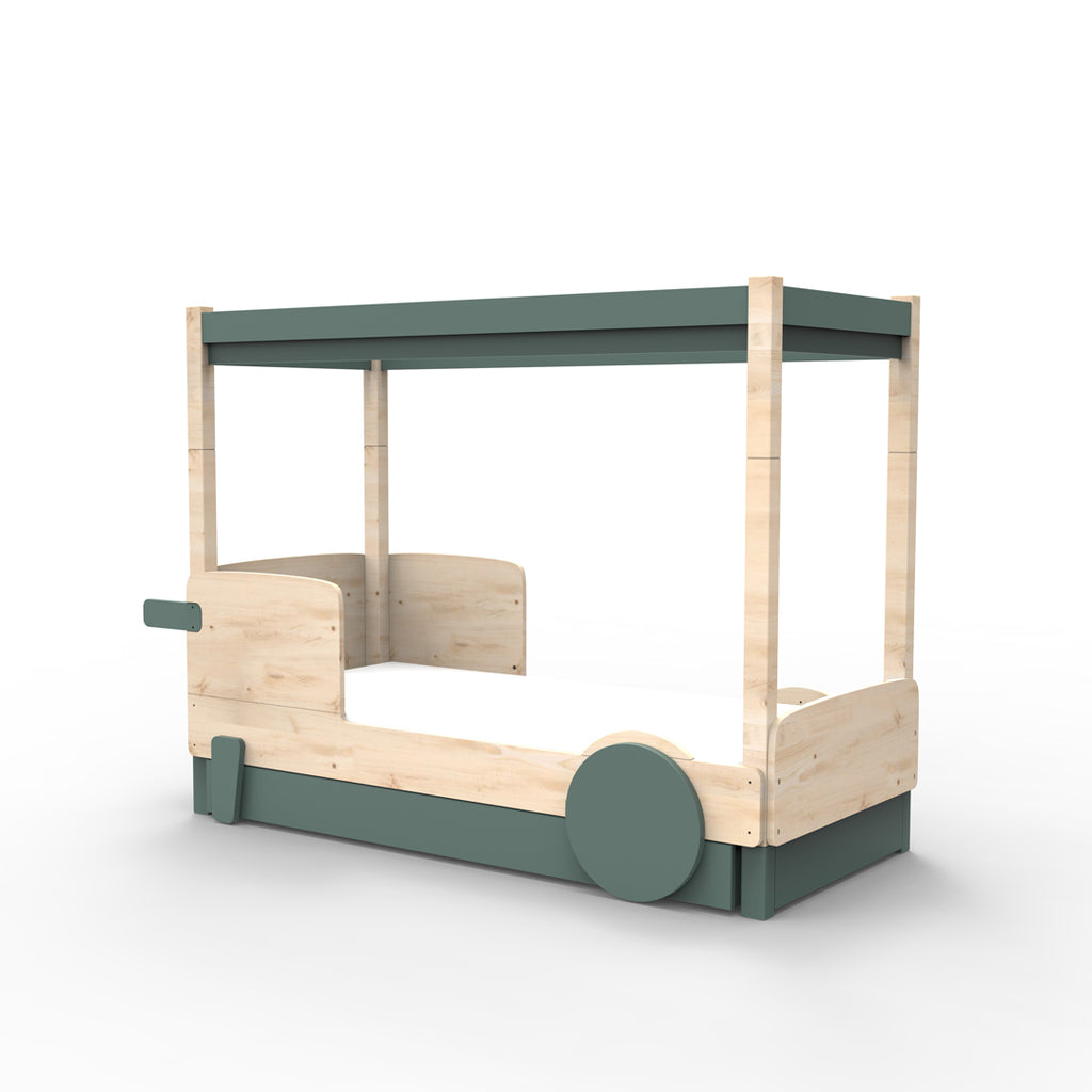 Canopy Bed Discovery with Drawer/Underbed - Mathy by Bols