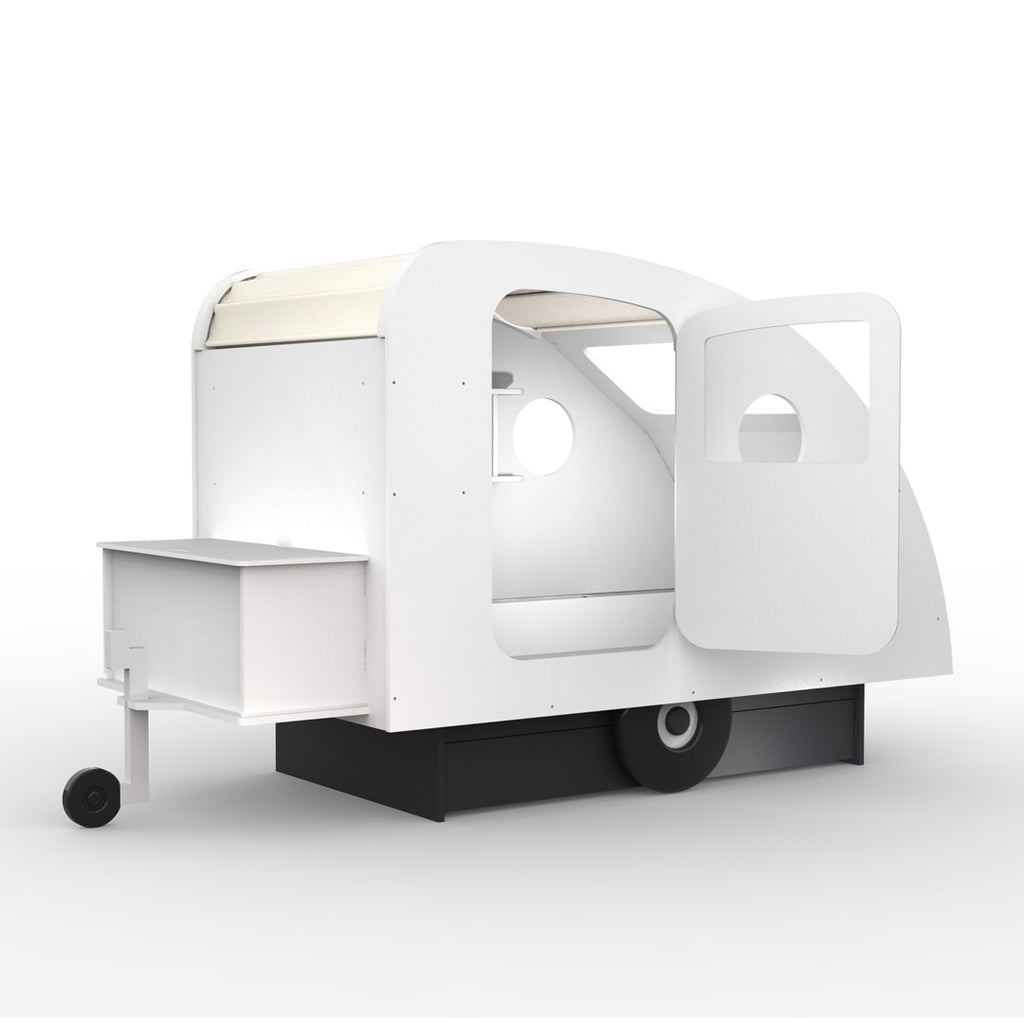 Caravan Bed White - Mathy by Bols