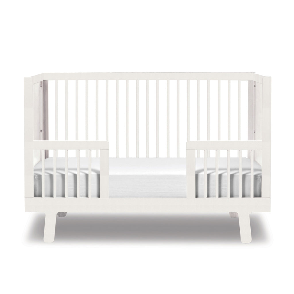 Oeuf Sparrow baby cot - White