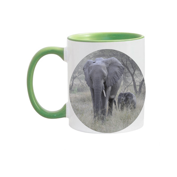 11oz. Mug Elephants