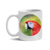 11oz. Mug Macaw Close