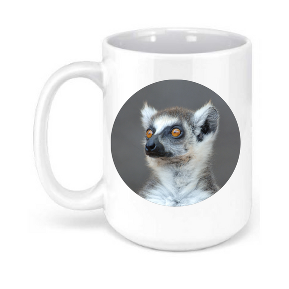 15oz. Lemur Close Mug