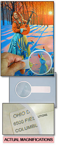 3X Magnifier Bookmark (Set of 2)