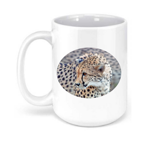 15oz. Cheetah Mug