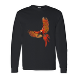 Long Sleeve Scarlet Macaw Shirt