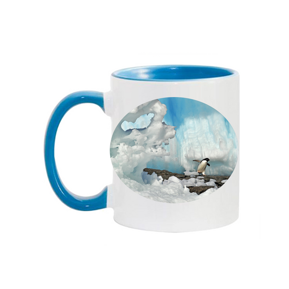 11oz. Mug Penguin w/Ice
