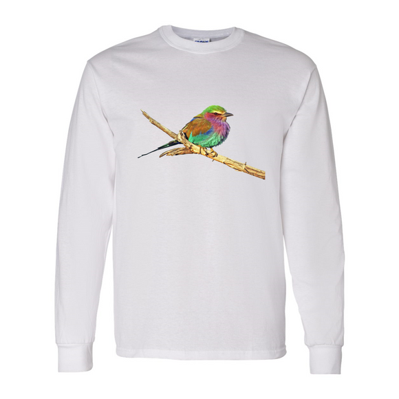 Long Sleeve Roller Bird Shirt