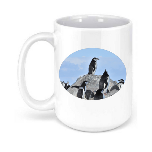 15oz. Penguins Mug