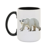 15oz. Mug Polar Bears 4