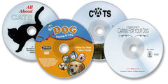 4 DVD Set (Complete Guide to Caring For Your Dog/ Easy Dog Training & Care/ Cats/ All About Cats)