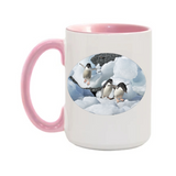 15oz. 3 Penguins Mug