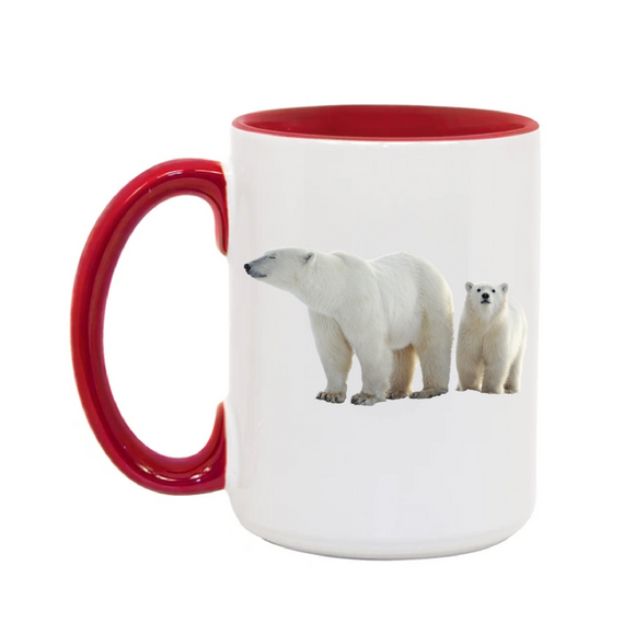 15oz. Mug Polar Bears 3