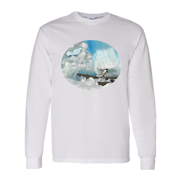 Long Sleeve Penguin & Ice Shirt