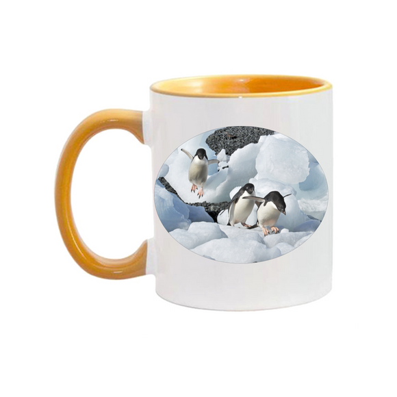11oz. Mug Penguins Climbing