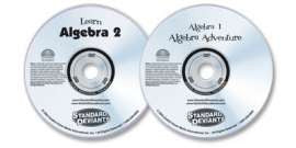 2 DVD Set (Algebra 1/Learn Algebra 2)