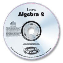 Learn Algebra 2 DVD