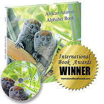 African Animals Alphabet Book and Exotic Africa DVD