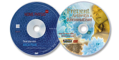 2 Disc Set (Treat Your Own Back Pain DVD /Prevent Arthritis & Rheumatism DVD)