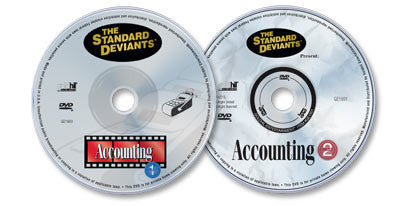 2 DVD Set (Accounting 1 /Accounting 2)