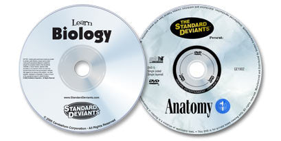 2 DVD Set (Learn Biology /Anatomy)