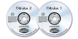 2 DVD Set (Calculus 1 /Calculus 2)