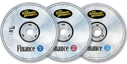 3 DVD Set (Finance 1 /Finance 2 /Finance 3)