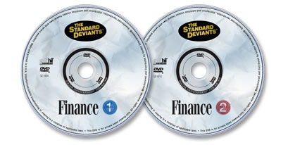 2 DVD Set (Finance 1/Finance 2)