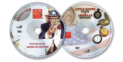 2 DVD Set (Fun Facts of American History /Little Known Facts of American History)