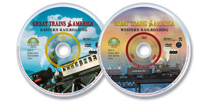 Great Trains of America 2 DVD Set