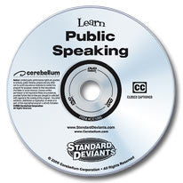 Learn Public Speaking DVD