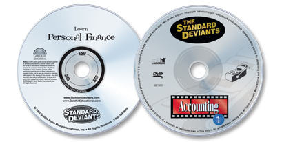 2 DVD Set (Learn Personal Finance /Accounting 1)
