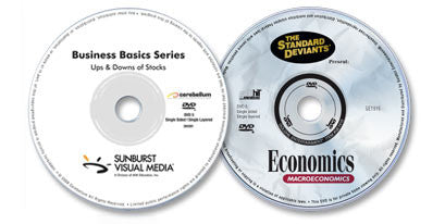 2 DVD Set (Macroeconomics /Ups & Downs of Stocks)