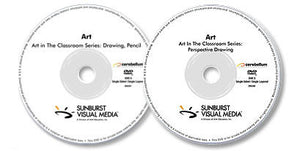 2 DVD Set (Perspective Drawing /Drawing, Pencil)