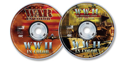 2 DVD Set (World War II in Color/World War II in Color: The British Story)