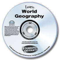 Learn World Geography DVD