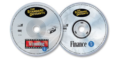 2 DVD Set (Accounting 1 /Finance 1)