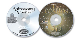 2 Disc Set (Astronomy Adventure DVD /The Cosmos 3D CD-ROM)