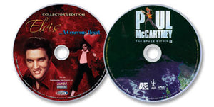 2 DVD Set - Elvis: A Generous Heart / Paul McCartney: The Space Within US