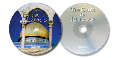 2 DVD Set (Journey Through the Bible Lands /The Gates of Jerusalem)