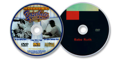 2 DVD Set (Legends of Baseball: America's Pastime /Babe Ruth)