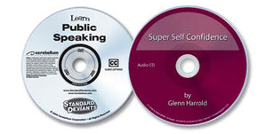 2 Disc Set (Learn Public Speaking DVD /Super Self Confidence Audio CD)