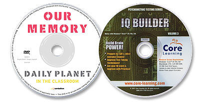 2 Disc Set (IQ Builder CD-ROM /Our Memory DVD)