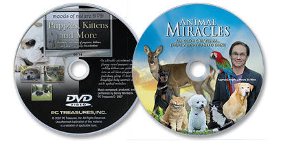 2 DVD Set (Puppies, Kittens, and More /Animal Miracles)