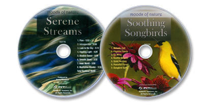 2 Audio CD Set (Soothing Songbirds /Serene Streams)