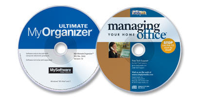 My Ultimate Organizer & Managing Your Home Office (2 CD-ROM Set)